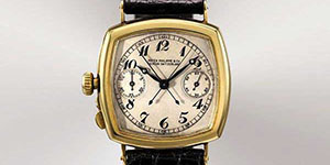 World's Most Expensive Watch #15: Patek Philippe The Grogan (1925) Gold Chronograph Watch. One of the first watches made for a lefty. Price: US$1,945,040.
