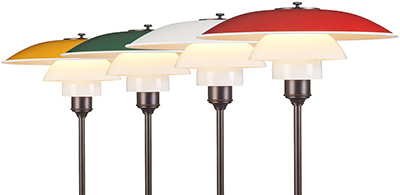 PH 3½ - 2½ table lamps.