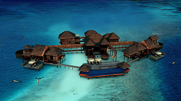 The Private Reserve, Gili Lankanfushi, Lankanfushi Island, North Malé Atoll, Republic of Maldives.
