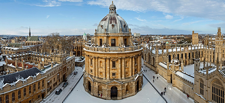 University of Oxford, Oxford, England, U.K. Ranked No. 2 by the Times Higher Education World University Rankings 2015-2016.