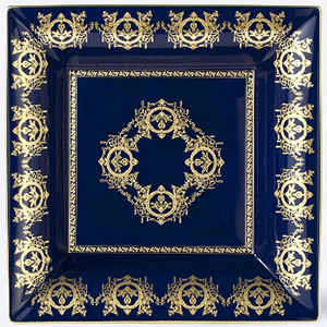 Ritz Paris Essentials Blue 'Imperial' Collection change tray with blue background 30 × 30 cm: €806.