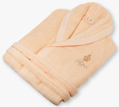 Ritz Paris Essentials men/women's peach bathrobe: €200.