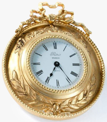 Ritz Paris Essentials small wall clock: €1,350.