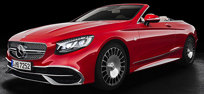 Mercedes-Maybach S 650 Convertible (2017): US$323,000.