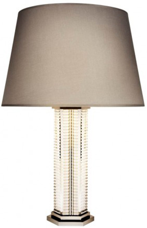 Saint-Louis Cristallerie Adiante table lamp.