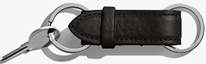 Shinola women's Wallet Key Fob: US$65.