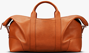 Shinola men's Large Carryall: US$1,295.