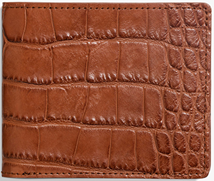 Shinola men's Classic Bifold in American Alligator: US$695.