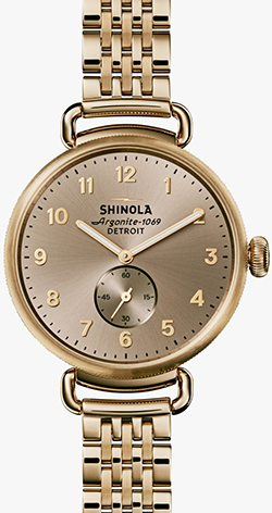 Shinola The Canfield 38mm women's watch: US$900.
