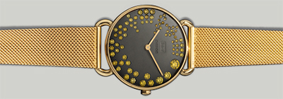 Solange Azagury-Partridge Rounds Watch.