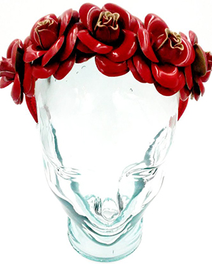 Victor de Souza Frida headband: US$680.