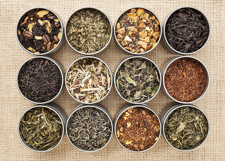 Most Popular Types of Tea.