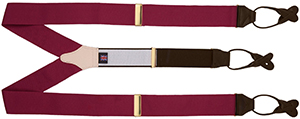 T.M.Lewin Burgundy Braces: £29.50.