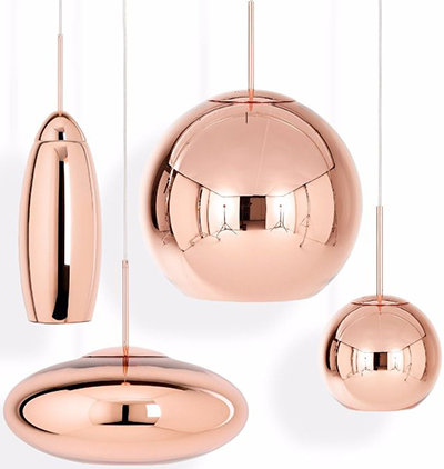 Tom Dixon The Copper Family.
