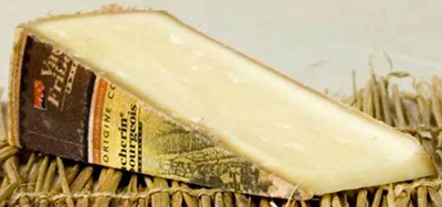 Vacherin du Haut-Doubs cheese.