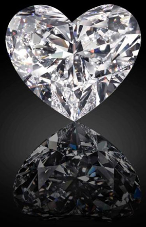 Graff Venus type IIa, 118.78ct diamond.
