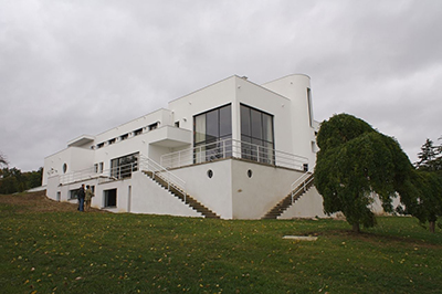Villa Paul Poiret in Mézy-sur-Seine, Yvelines, France, is an early 1920s Cubism-inspired, and later Art Deco, private house originally designed by architect Robert Mallet-Stevens.