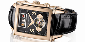 World's Most Expensive Watch #33: Girard-Perregaux Vintage 1945 Jackpot Tourbillion. Jewels: 38. Power reserve: min. 96 hours. Price: US$625,000.