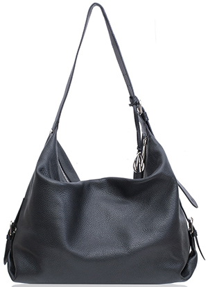 Amanda Wakeley black Costner Hobo bag: £275.