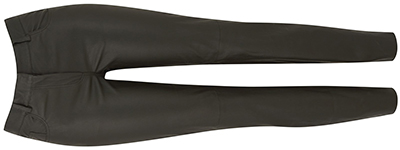 Amanda Wakeley Delta women's black leather jean: £350.