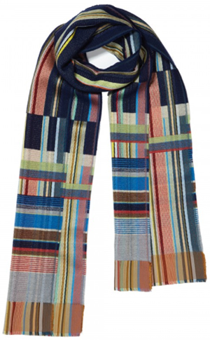 Wallace & Sewell Horatio Silk & Lambswool scarf: £110.