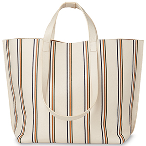 Whistles women's Winston Stripe Printed Tote: £195.