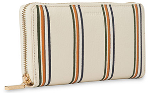 Whistles women's Winston Stripe Print Wallet: £55.20.
