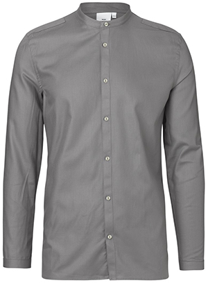 Won Hundred Faden New Men's Shirt - Dust Grey.