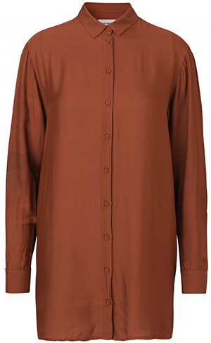 Won Hundred Sharla New Women's Shirt - Auburn Red.