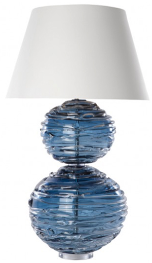 William Yeoward Alfie Midnight table lamp: £1,550.