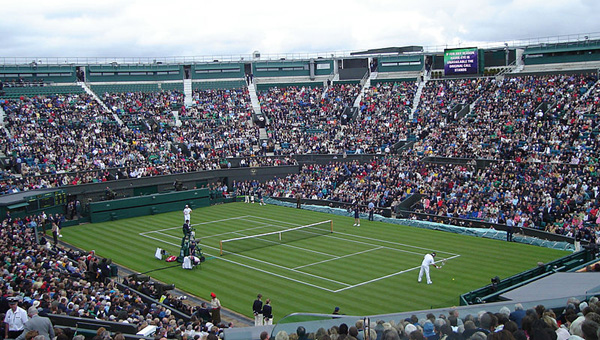 130th WIMBLEDON CHAMPIONSHIPS at All England Lawn Tennis and Croquet Club, Church Road, Wimbledon, London SW19, England, U.K.: June 27 - July 10.