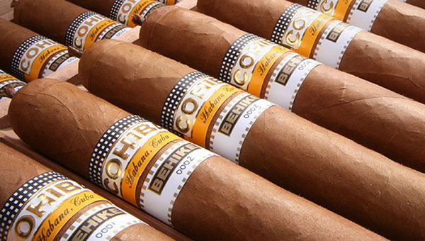 Cohiba Behike Cuban cigars - the flagship brand among all Cuban cigar brands. Established in 1966 as a limited production private brand supplied exclusively to Fidel Castro & high-level officials in the Communist Party of Cuba.