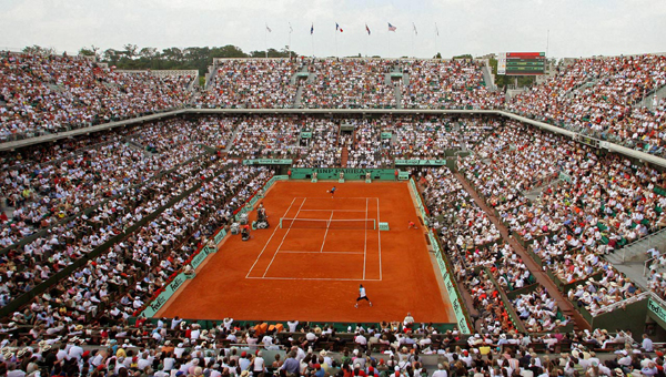117th FRENCH OPEN - Stade Roland Garros, 2 Avenue Gordon Bennett, 75016 Paris, France: May 21 - June 10.