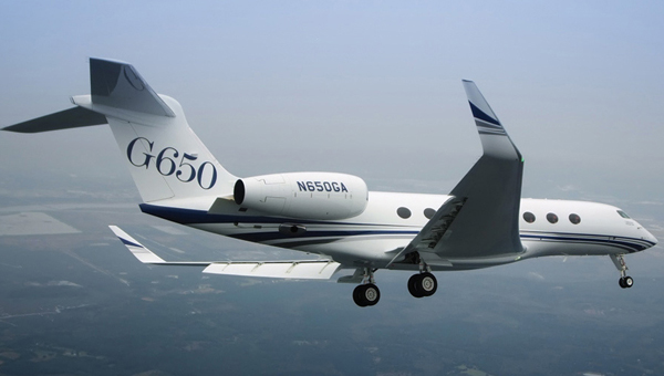 Gulfstream G650 - 'The Fastest Civil Aircraft In The Sky'. Price: US$65 million.