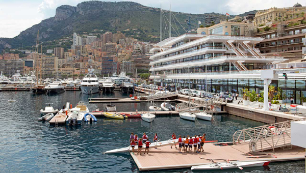 The NEW Lord Norman Foster-designed clubhouse for the Yacht Club de Monaco. Opened on June 20, 2014.